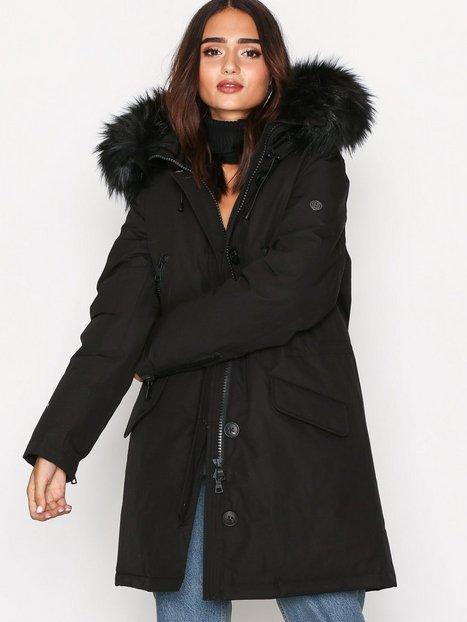 Billede af Blonde No8 Polar Jacket FakeFur Vindjakke Black