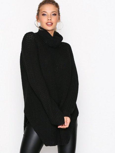 Billede af Hope Grand Sweater Strikkede trøjer Black