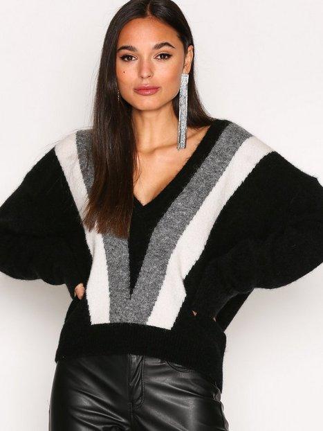 Billede af J Lindeberg Mallory Fine Mohair Sweater Strikket trøje Black