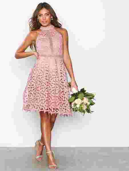Sportscut Crochet Dress Nly Eve Rose Party Dresses Clothing
