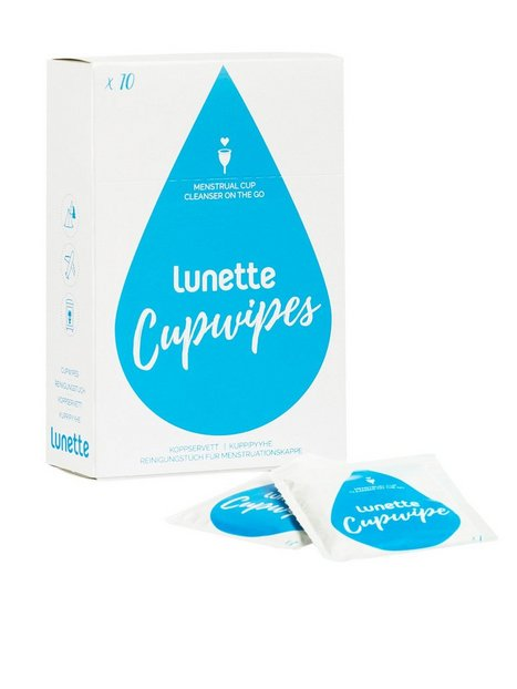 Billede af Lunette Cup Wipes 10 pcs Intimpleje Transparent