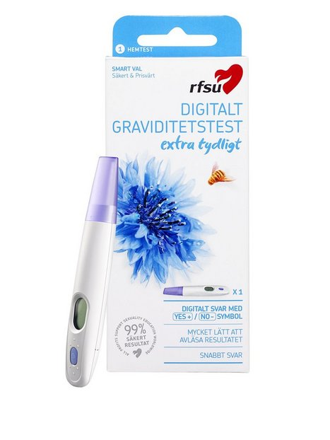 Billede af RFSU Digital Pregnancy Test Graviditetstest Transparent