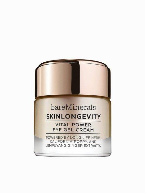 Billede af bareMinerals Skinlongevity Vital Power Eye Cream Gel 15 ml Øjenpleje Hvid
