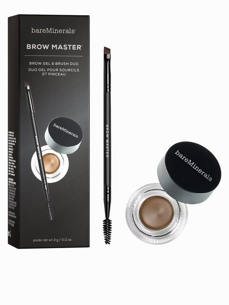 bareMinerals Brow Master Brow Gel & Brush Duo Ögonbryn Soft Brown thumbnail