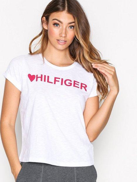 Tommy Hilfiger Underwear Slogan Tee Pyjamat & Oloasut Valkoinen thumbnail