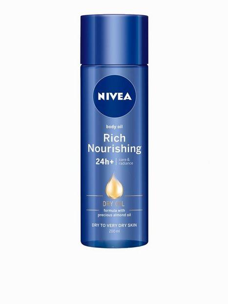 Billede af Nivea Rich Nourishing 24h Dry Body Oil Bodylotion Transparent