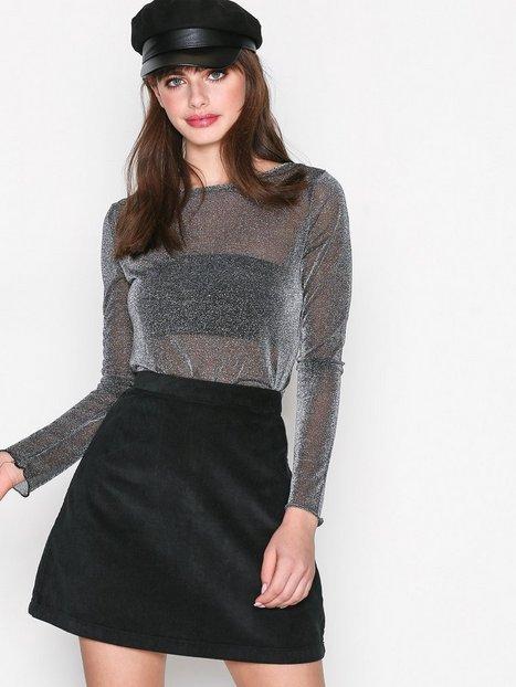 Billede af Dr Denim Lolo Skirt Mini Nederdel Black