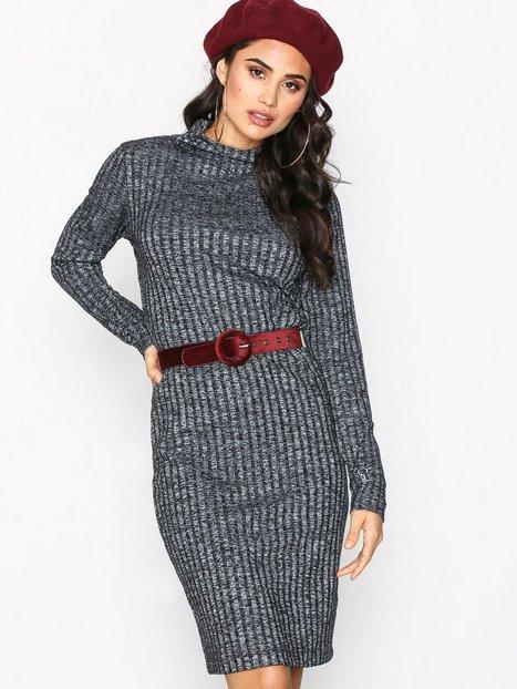 Billede af Calvin Klein Jeans Dilon MN LWK Dress Kropsnære kjoler Sort