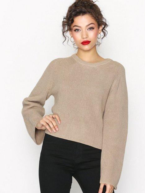 Billede af Calvin Klein Jeans Suvi Crew Neck Sweater Strikkede trøjer Beige