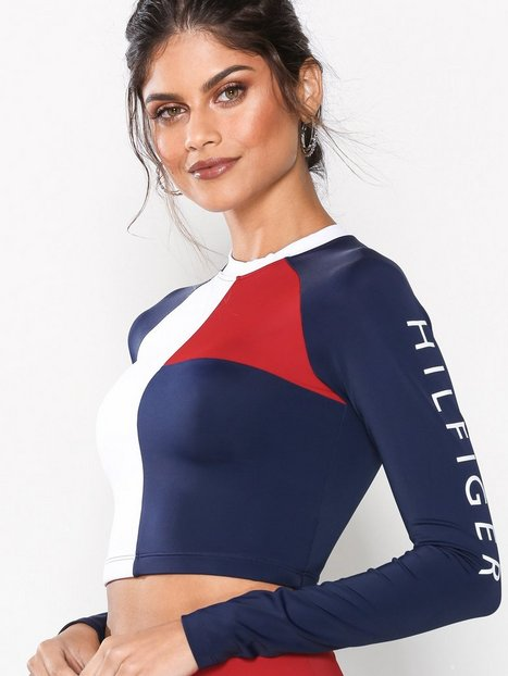 Tommy Hilfiger Underwear Rashguard Cropped Top Top Multicolor thumbnail