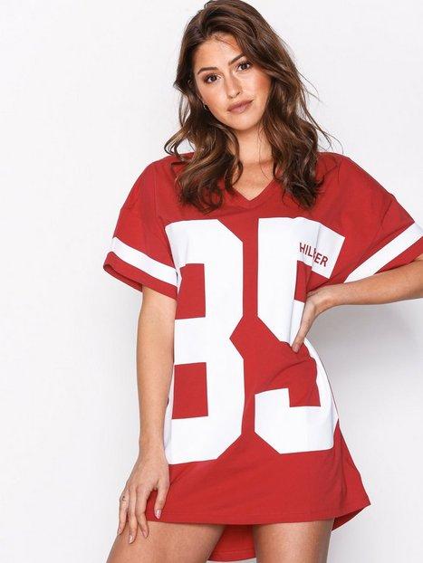 Billede af Tommy Hilfiger Underwear Dress SS Fashion Pyjamas & Hyggetøj Rød