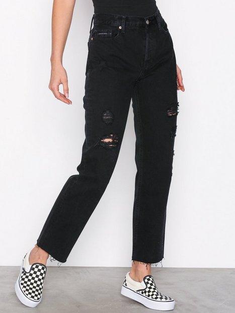 Billede af Calvin Klein Jeans Ankle Raw-Hook BlackDSTR RGD Straight Black