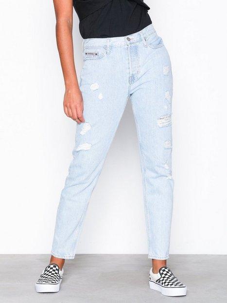 Billede af Calvin Klein Jeans Slim-Siouxie Blue DSTR Slim fit Denim Blå