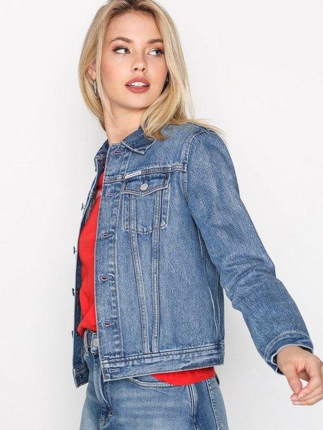 Billede af Calvin Klein Jeans Clean line trucker Denimjakker Blå
