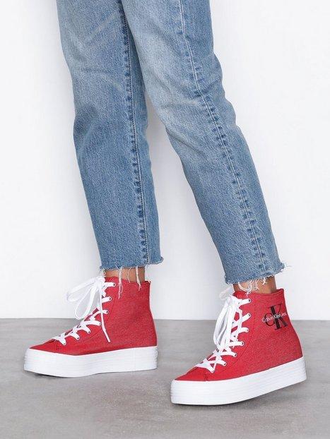 Billede af Calvin Klein Jeans Zabrina Denim High Top Rød
