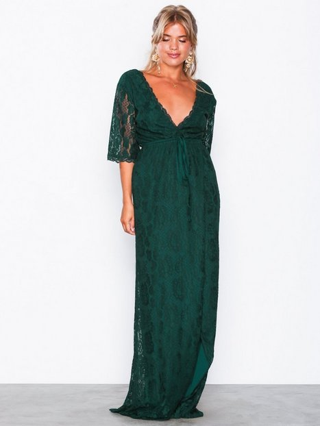 Forever Lace Wrap Gown