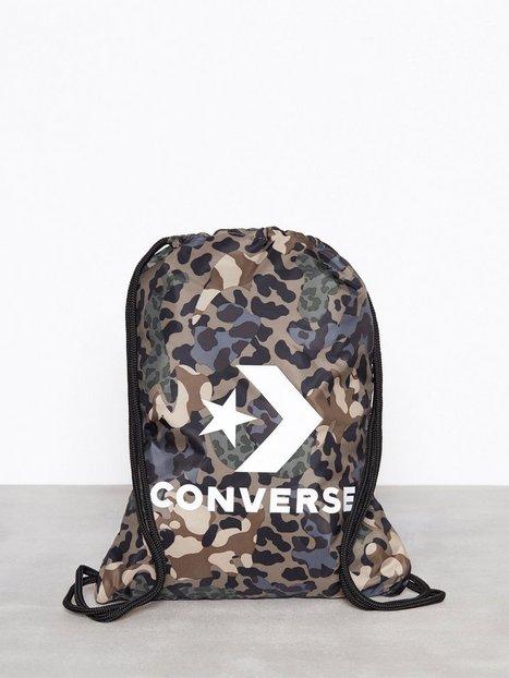Billede af Converse Cinch Bag Stof/kanvastaske Mønstret
