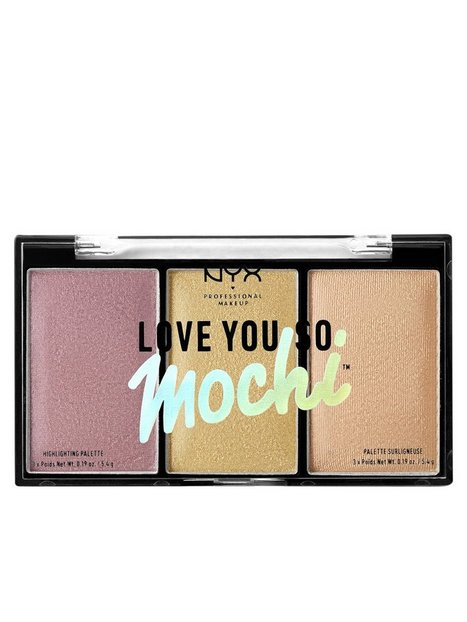 NYX Professional Makeup Love You So Mochi Highlight Palette Highlighter Lit Life thumbnail