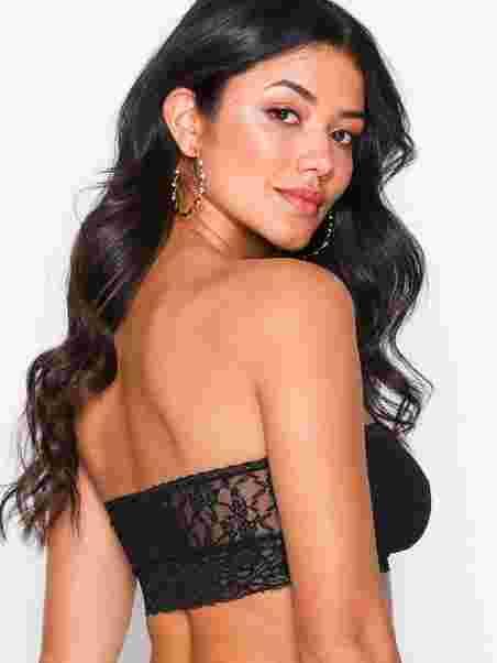83c456a8e1 Crazy Lace Strapless Bralette - Passionata - Black - Bras   Tops ...