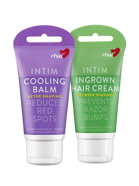 Billede af RFSU Ingrown Hair Cream & Cooling balm Intimpleje Transparent