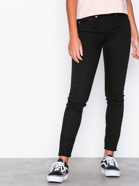Billede af Calvin Klein Jeans CKJ 011: Mid Rise Skinny Skinny Black