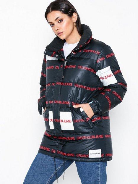 Billede af Calvin Klein Jeans Multi Logo Down Puffer Dunjakker