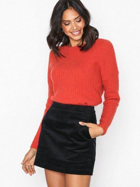 Billede af Calvin Klein Jeans High Rise Skinny Corduroy Mini nederdele