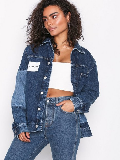 Billede af Calvin Klein Jeans One pocket trucker Denimjakker