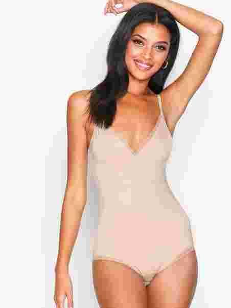 65b59c8e2 Sandra Lace Shaping Body - Lindex - Beige - Bras   Tops - Underwear ...