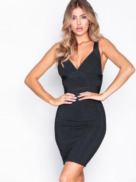 Billede af WOW Couture Sleeveless Bandage Dress Kropsnære kjoler Black