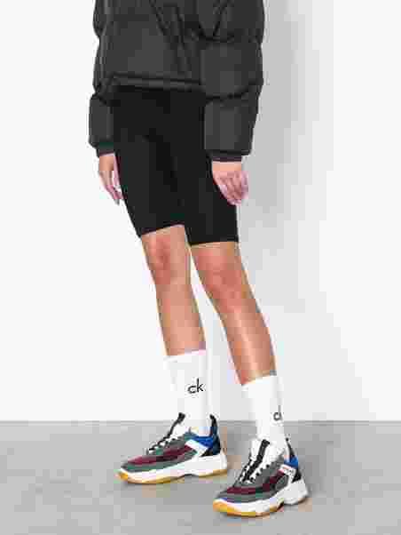 Maya Sko Kvinner Sneakers Klein Rosso Jeans Calvin rx7wpqPr 4ccee1d1939