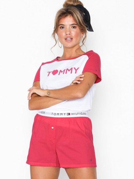 Billede af Tommy Hilfiger Underwear Set SS Love Woven Boxer Pyjamasser & hyggetøj