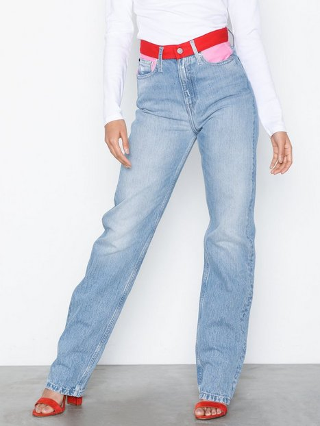 Billede af Calvin Klein Jeans Ckj 030 High Rise Straigh Straight fit