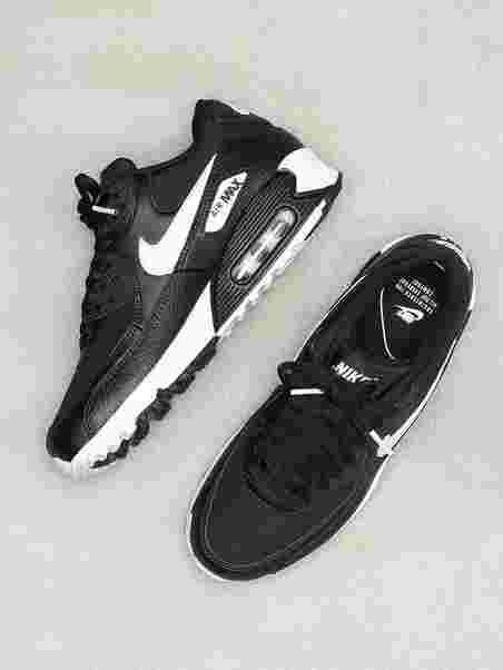 100% hög kvalitet lägre pris med löparskor Nsw Wmns Air Max 90 - Nike - Black/White - Sneakers - Shoes ...