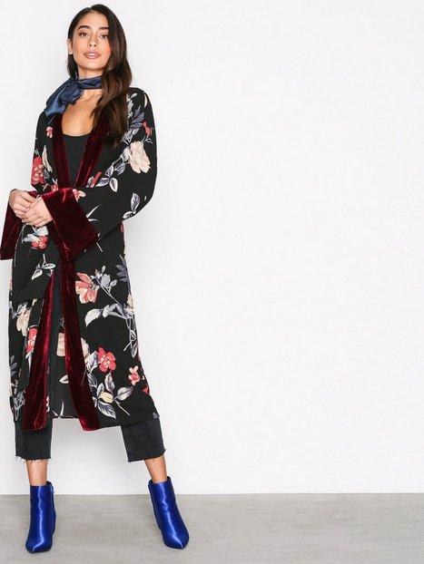 Billede af Kiss The Sky Velvet Morning Kimono Festkjoler Multi