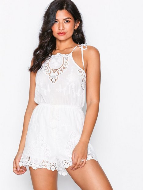 Billede af Kiss The Sky Delicate Touch Playsuit Playsuits White