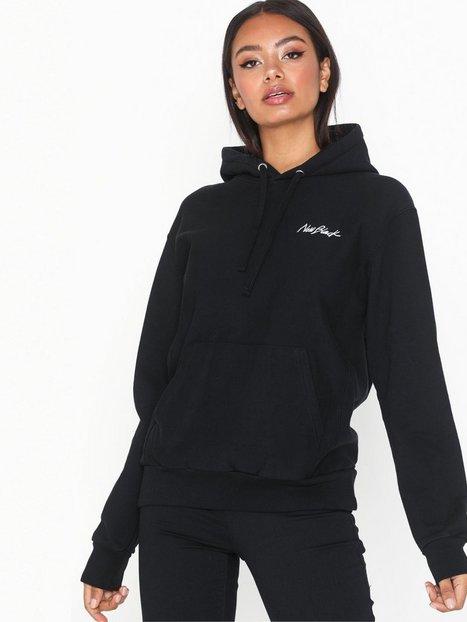 Billede af New Black Little Signature Hood Hættetrøjer