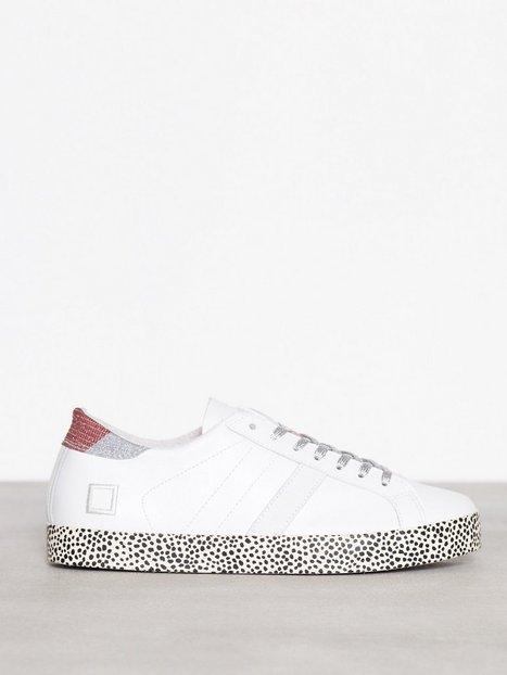 Billede af D.A.T.E. Sneakers Hill low Print Drop Low Top Hvid