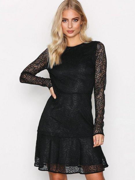 Billede af Michael Michael Kors Arabesque Floral Dress Langærmet kjole Black