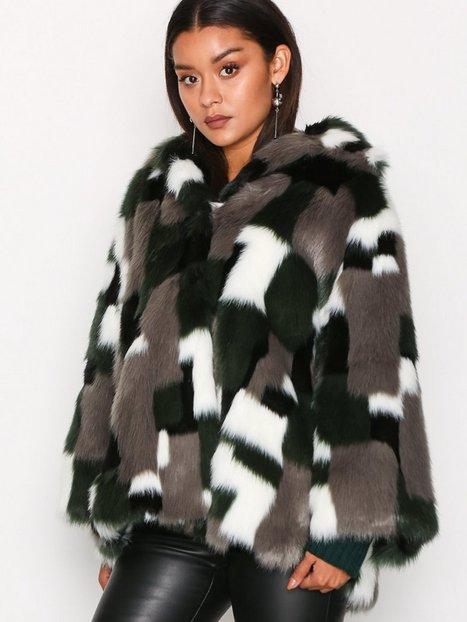 Billede af Diesel L-Zeky Jacket Faux Fur Black