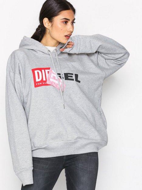 Billede af Diesel F-Alby Sweatshirt Hættetrøjer Grey