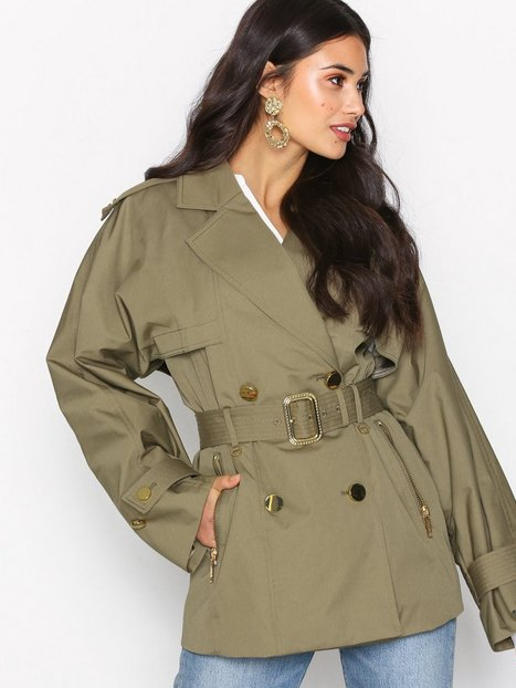 Billede af Michael Michael Kors Short Wide Trench Trenchcoats Safari