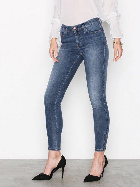 Billede af Diesel Skinzee Zip Trousers Skinny Denim