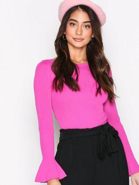 Billede af Michael Michael Kors Boatneck Bell Sleeve Rullekravetrøje Pink