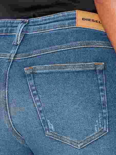 3bf7c232a6 Babhila 00S7lx Trousers - Diesel - Denim Blue - Jeans - Clothing ...