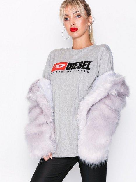 Billede af Diesel T-Just Division FL T-shir Toppe Grey Melange