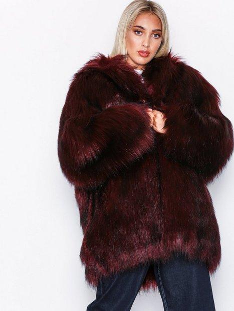 Billede af Diesel L-Wiske Jacket Faux Fur