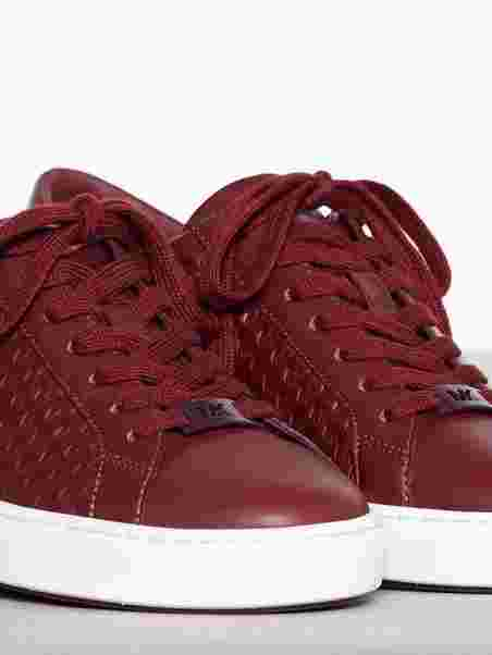 4c1bc79440b Colby Sneaker - Michael Michael Kors - Wine Red - Sneakers - Shoes ...