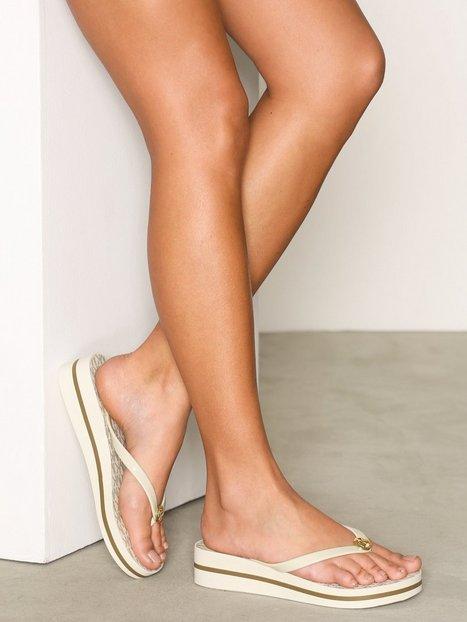 Billede af Michael Michael Kors Bedford Flip Flop Stripe Flip-Flops Vanilla