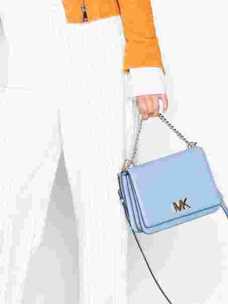 ccde86917b7 Mott Lg Chain Swag Shldr - Michael Michael Kors - Blue - Bags ...
